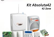 kit allarme filiare bentel abs42