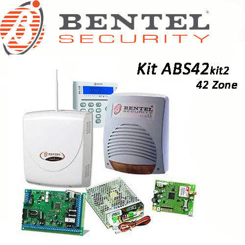 Kit antifurto filare 42 zone bentel security abs42kit2 for Bentel absoluta 42 prezzo