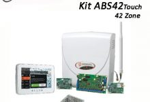 kit allarme filiare abs42touch