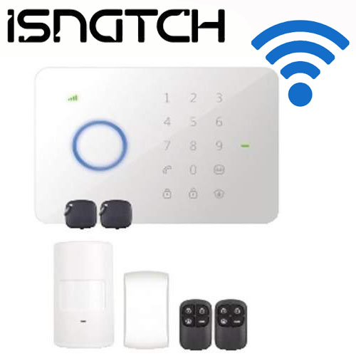 KIT ANTIFURTO WIRELESS ISNATCH